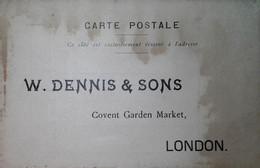 H 18 Carte Postale De Commerce  Traces Humides - Covers & Documents