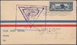 USA, Pocatello, Luftpost, First Flight, Pocatello- San Diego, Gelaufen 1928 - Covers & Documents