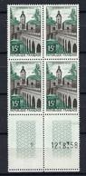 FRANCE 1958: Bloc Du Y&T 1106 CDF (coin Daté), Neufs** - Unused Stamps