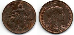 10 Centimes 1898 Dupuis SUP - D. 10 Centimes
