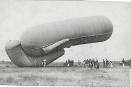 Ballon D' Observation  --  Armée Belge - Aeronaves
