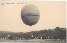 Armée Belge  --  Ballon Militaire Libre - Aeronaves