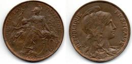 10 Centimes 1900 Dupuis SUP - D. 10 Centimes