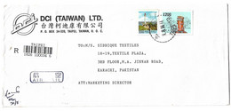 China 1994 Registered Airmail Cover To Pakistan. - Briefe U. Dokumente