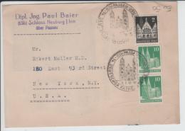 Brief 74. Deutscher Katholikentag 1950 Passau Wohlfahrtspflege - Covers & Documents