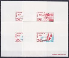 WALLIS AND FUTUNA 1988, Mi# 555-558, Deluxe Blocks, Sport, Olympics Seoul - Zomer 1988: Seoel