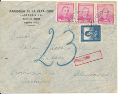 Chile Underpaid Air Mail Cover Sent To Germany 1-10-1936 - Chile