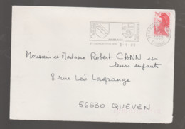 Flamme Dpt 91 : ST MICHEL SUR ORGE (SCOTEM N°  8578 émise Le 16/06/1987) : Jumelage Avec PÜTTLINGEN (Allemagne) - Annullamenti Meccanici (pubblicitari)