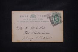 CÔTE D'OR - Entier Postal De King W Town En Local En 1900 - L 108739 - Gold Coast (...-1957)