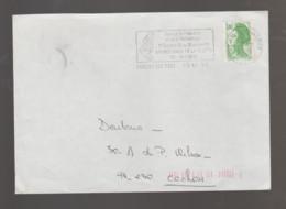 Flamme Dpt 91 : SAVIGNY SUR ORGE (SCOTEM N°  7520bd Du 24/10/1985 => 20/01/1986) : Festival Industrie & Technologie - Annullamenti Meccanici (pubblicitari)