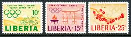 Liberia MNH 1964 Olympic Games - Liberia