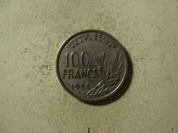 MONNAIE FRANCE 100 FRANCS COCHET 1958 B - N. 100 Francs