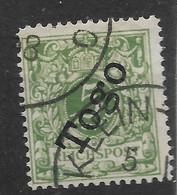Deutsches Reich,  Guter  Wert Der Frühen  Ausgabe Für Togo Von 1897 - Kolonie: Togo