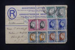 AFRIQUE DU SUD - Entier Postal + Compléments ( Paires Bilingue ) En Recommandé De East London En 1937 - L 108751 - Covers & Documents