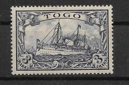 Deutsches Reich,  Guter Ungebrauchter  Wert Der Frühen  Ausgabe Für Togo Von 1900 - Kolonie: Togo