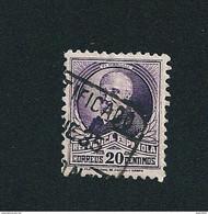 N° 502 A Pi Y Margall Timbre Espagne (1931) Oblitéré 20 Centimos Espanola - 1931-50 Usati