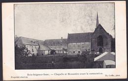 +++ CPA - BOIS SEIGNEUR ISAAC - Chapelle Et Monastère Avant La Restauration   // - Braine-l'Alleud
