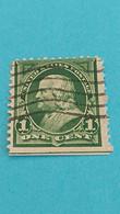 ETATS-UNIS - U.S.A. - Timbre 1894 : Sciences - Portrait De Benjamin FRANKLIN - Used Stamps