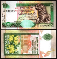 Sri Lanka - 10 Rupees 2006 UNC P. 115e Lemberg-Zp - Sri Lanka