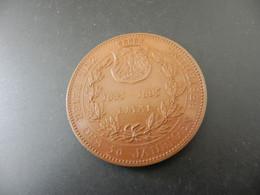 Medaille Zur Feier Des 50 Jährigen Bestehens - Deutscher Phönix - Frankfurt - 1845 - 1895 - Ohne Zuordnung
