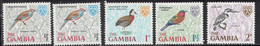 GAMBIA Scott # 215-18 MH - Various Birds Part Set - Gambia (...-1964)