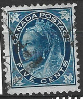 Canada  1896  SG  146   5c  Fine Used - Used Stamps