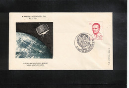 Yugoslavia / Jugoslawien 1966 Space / Raumfahrt  World Weather Watch By Satellites - Europe