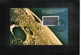 Yugoslavia / Jugoslawien 1978 Space / Raumfahrt IAF Dubrovnik International Astronautical Congress - Europe