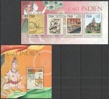 TG658 2013 TOGO TOGOLAISE INDIAN ART L'ART INDIEN KB+BL MNH - Altri