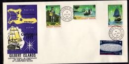 Gilbert (1977) - FDC  -  Enveloppe  -   Noel - - Gilbert & Ellice Islands (...-1979)