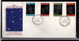 Gilbert (1978) - FDC  -  Enveloppe  -  Constellations - - Gilbert & Ellice Islands (...-1979)