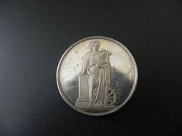 Medaille France Festival De Mulhouse - Chanteurs De L'Alsace - 1870 - Argent - Unclassified