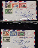 Gilbert Et Elice  (1956) -  2 -  Enveloppe  -   Elizabeth II - Gilbert & Ellice Islands (...-1979)