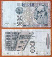 Italy 1000 Lire 1982 VF P-109a - 1000 Liras