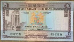 The Chartered Bank 5 Dollars 1970 UNC Non Circulé - Hongkong