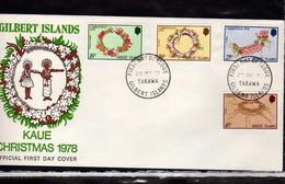 Gilbert (1978) - FDC  -  Enveloppe  -   Noel - - Gilbert & Ellice Islands (...-1979)