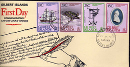 Gilbert (1979) - FDC  -  Enveloppe  -   Capitaine Cook - Gilbert & Ellice Islands (...-1979)