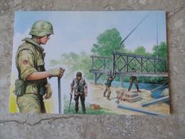 CPM Guerre Participation Italiana Alla Pacificazione Dell' Iraq Forze Italiana Di Pace - GENIO Illustrateur Scarpell - Andere Oorlogen