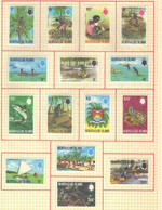 Gilbert  Et Elice  (1971-72) -  Elizabeth II - Serie Courante  -  Neufs* - MLH - Gilbert & Ellice Islands (...-1979)