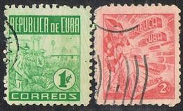1948 - CUBA - POSTA ORDINARIA / POSTAL MAIL. USATO / USED - Used Stamps