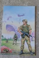CPM Militaria Participation Italiana Alla Pacificazione Dell' Iraq Forze Italiana Di Pace - Parachutiste - Ill Scarpelli - Andere Oorlogen