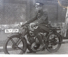 1920s Germany (army) Zudapp Driver Motorcycle Bike -private-detail Photo - Materiale