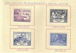 Gilbert  Et Elice  (1949) -    75eme Anniversaire De L'UPU -   Neufs* - MLH - Gilbert & Ellice Islands (...-1979)