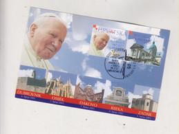 CROATIA 2003 ZAGREB Nice Maximum Card POPE JOHN PAUL II - Croatia