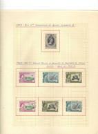 Gilbert  Et Elice  (1953-60) -   Elizabeth II - Couronnement  - Phosphate -   Neufs* - MLH - Oblit - Gilbert & Ellice Islands (...-1979)