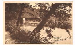 B-8501   HOUYET : Pont Du Chemin De Fer Sur La Lesse - Houyet