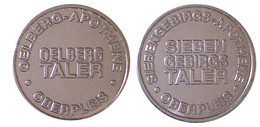 00582 GETTONE TOKEN JETON VENDING APOTHEKE OELBERG TALER OBERPLEIS - Ohne Zuordnung