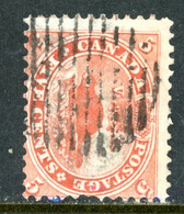 Canada USED 1859-64 First Cents Issue - Used Stamps