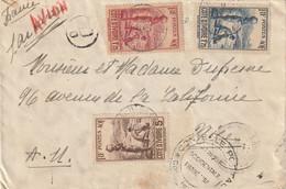LETTRE DE COTE D'IVOIRE SEPTEMBRE 1940 - Covers & Documents