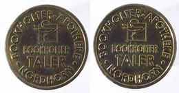 00598 GETTONE TOKEN JETON VENDING APOTHEKE BOOKHOLTER TALER NORDHORN - Ohne Zuordnung